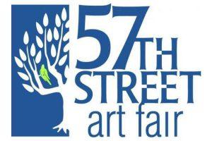 הלוגו של יריד האומנויות של רחוב 57 בשיקגו - צילום:  www.57thstartfair.org