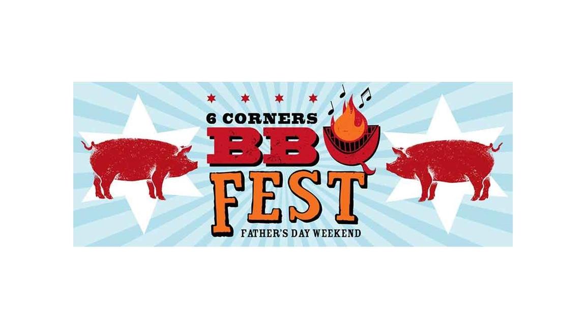 הלוגו של - סיקס קורנרס שיקגו ברביקיו פסטיבל - צילום: http://civicrm.sixcorners.com/