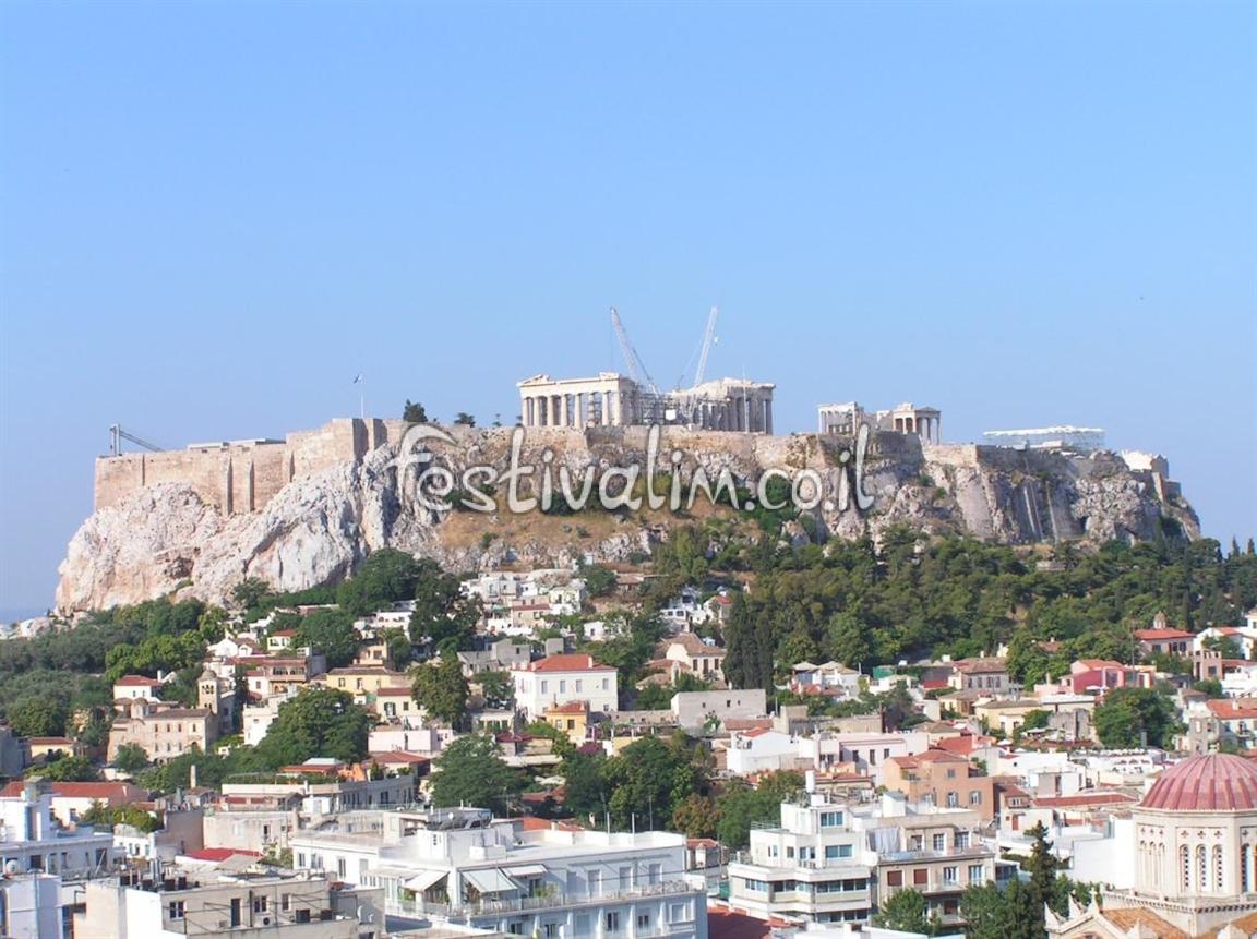 אקרופוליס באתונה - צילום באדיבות: © CarniFest Online