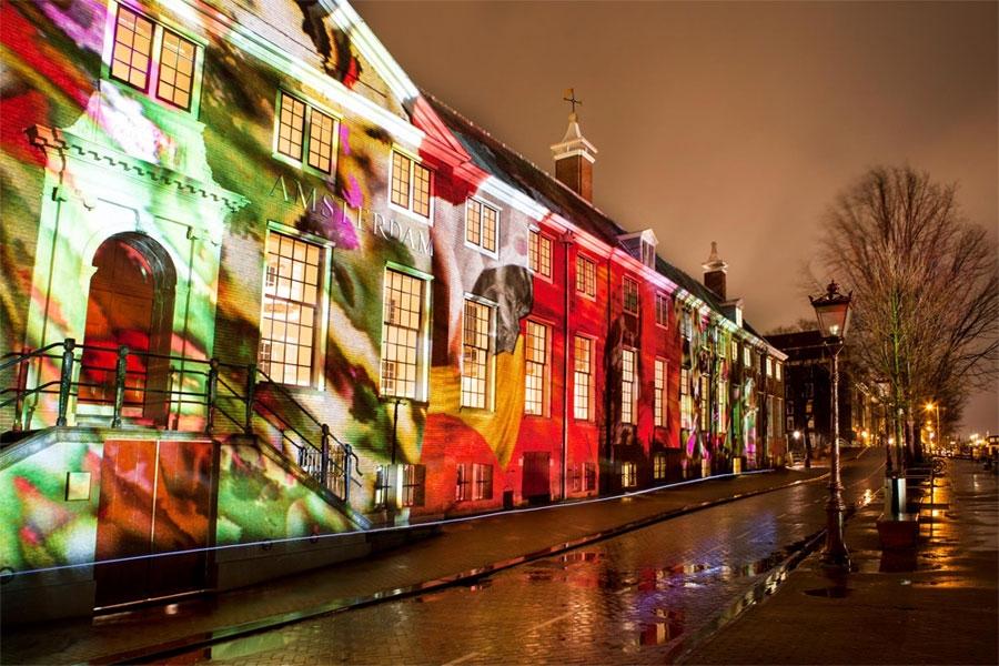 פסטיבל האור באמסטרדם - צילום: amsterdamlightfestival.com
