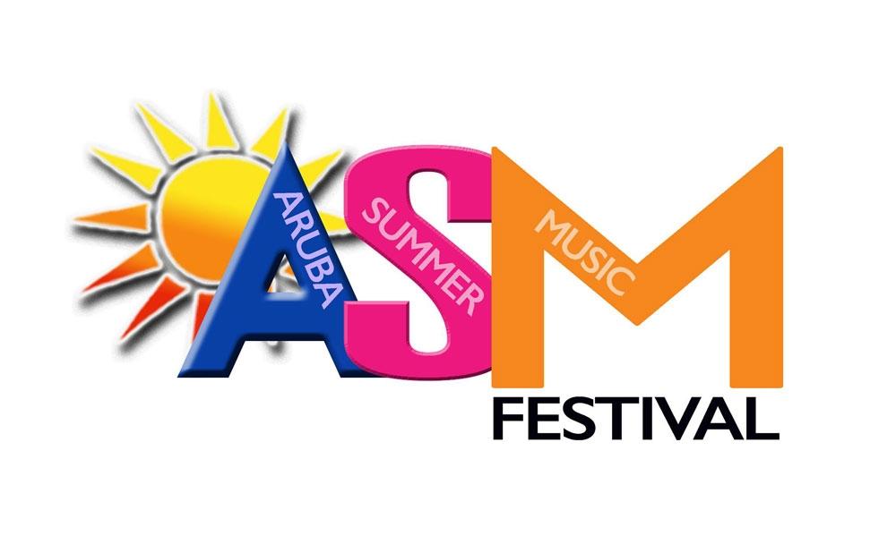 כרזת פסטיבל הקיץ למוזיקה בארובה - צילום: www.arubasmf.com
