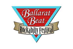 הלוגו של פסטיבל ביט רוקבילי בעיר באלארט - צילום: www.ballaratbeat.com.au