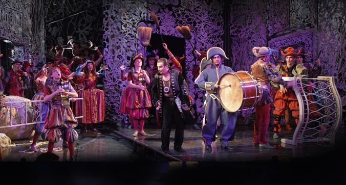 פסטיבל בנגקוק למוסיקה ומחול - הספר מסביליה / בית האופרה הליקון - צילום: www.bangkokfestivals.com