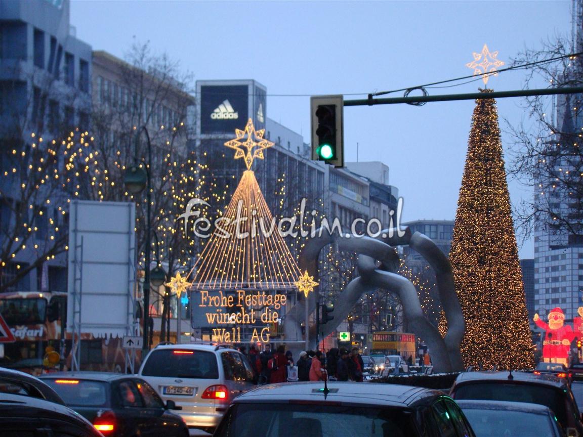 חג המולד בברלין - צילום באדיבות: © CarniFest Online