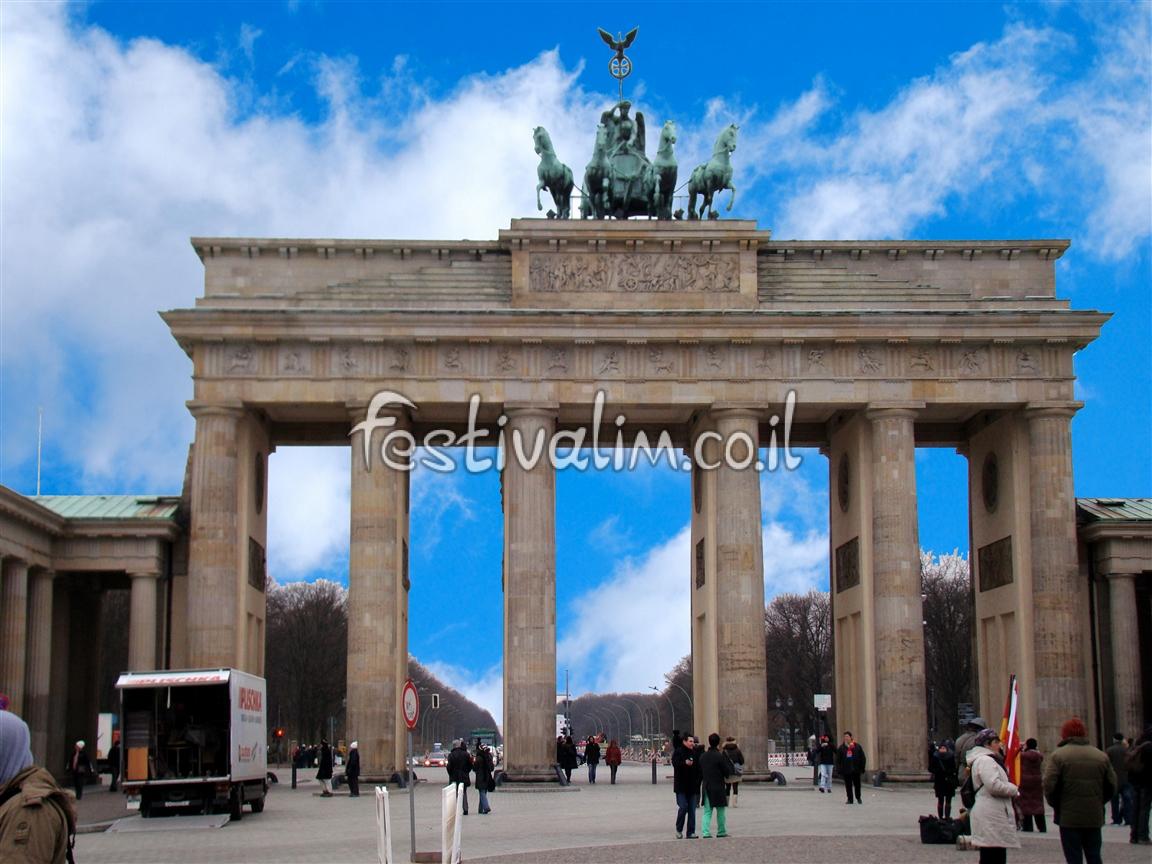 שער ברנדנבורג - ברלין - צילום באדיבות: © CarniFest Online