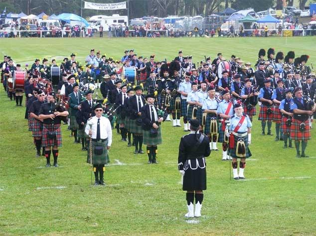 ההתכנסות הסקוטית השנתית בעיר בונדהנון - צילום: www.brigadoon.net.au