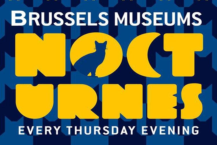 הלוגו של אירועי המוזיאונים של בריסל במחיר סמלי - צילום: www.brusselsmuseumsnocturnes.be