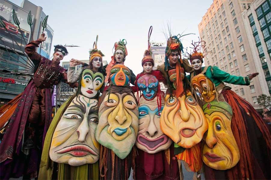 פסטיבל תרבות הרחוב של טורונטו  - צילום: Photo by: www.facebook.com/BuskerFestToronto