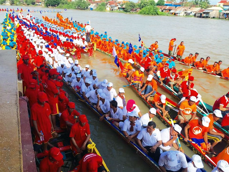 פסטיבל המים בקמבודיה - צילום: www.tourismcambodia.org
