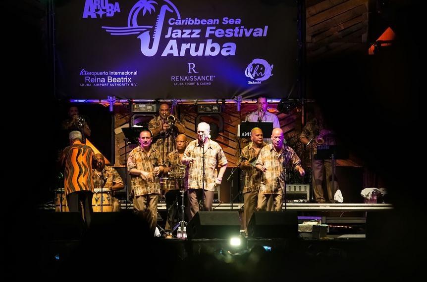 פסטיבל הג'אז הקריבי באי ארובה - צילום: www.caribbeanseajazz.com