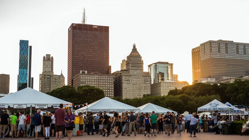 פסטיבל הבירה שיקגו הייל-פסט /  קיץ - צילום: www.chicagoalefest.com