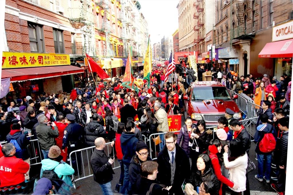 ראש השנה הירחי בצ'יאנה טאון ניו-יורק - צילום: http://betterchinatown.com/