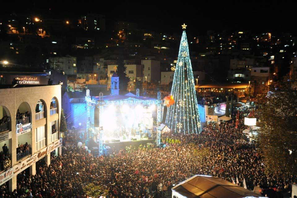 אירועי חג המולד בנצרת - באדיבות עמותת נצרת לתרבות ותיירות, צילום: אהוד עוזרי