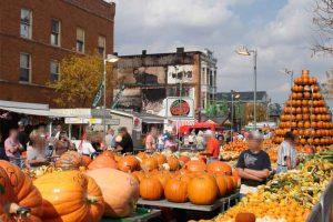 פסטיבל הדלעת של סירקלוויל אוהיו  - צילום: www.pumpkinshow.com