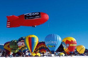 פסטיבל הכדורים הפורחים בדולומיטים - www.balloonfestival.it : צילום