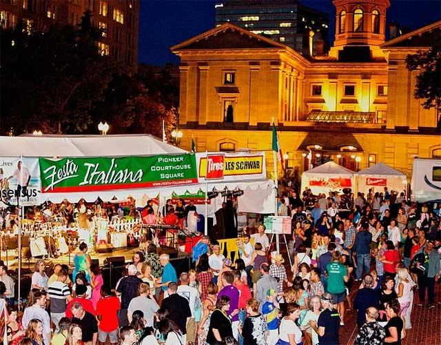 פסטיבל איטליה בפורטלנד אורגון - צילום: www.festa-italiana.org