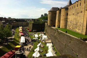 פסטיבל ימי הביניים בסדאן - Photo by: www.chateau-fort-sedan.fr