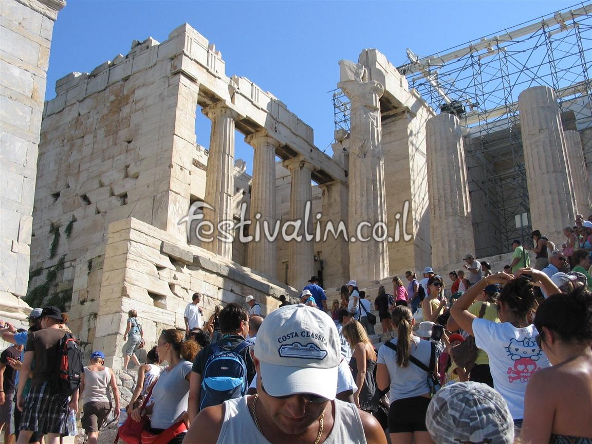 יוון, אתונה, אקרופוליס, פרטנון - צילום באדיבות: © CarniFest Online