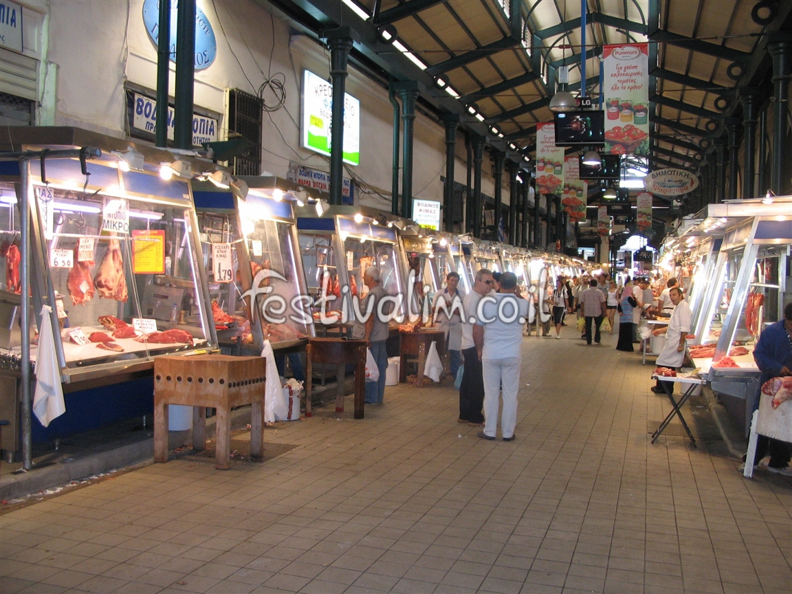 יוון, אתונה, השוק המרכזי - צילום באדיבות: © CarniFest Online