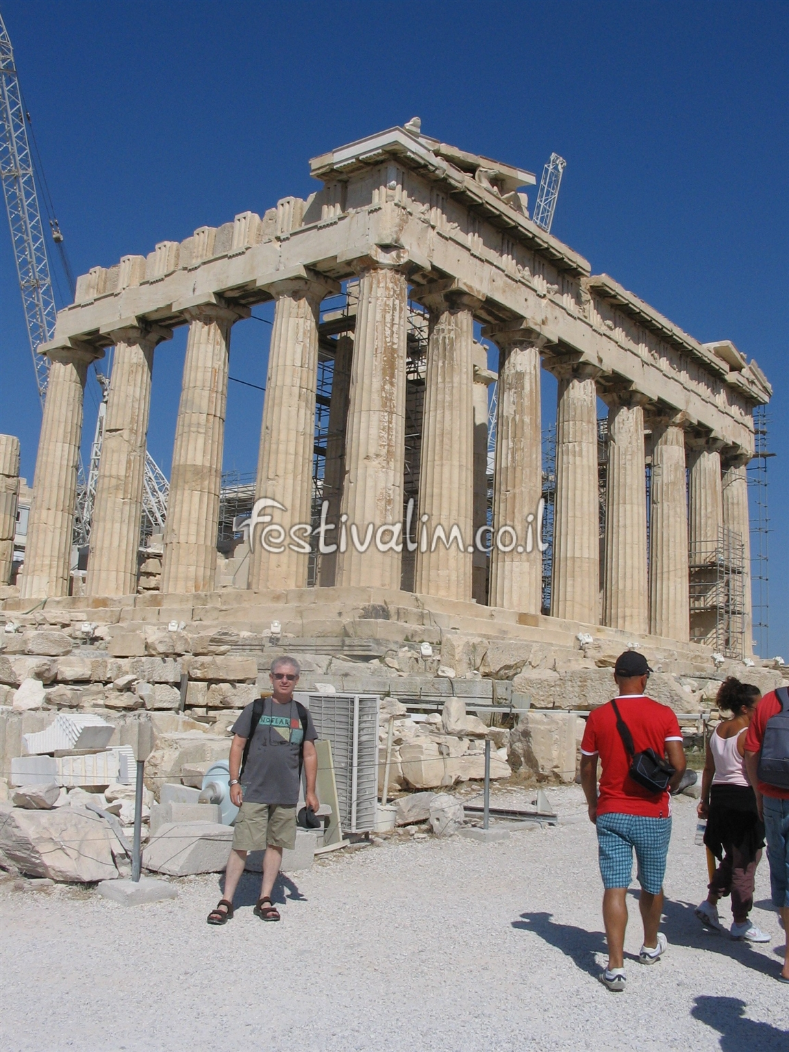 יוון, אתונה, אקרופוליס - צילום באדיבות: © CarniFest Online