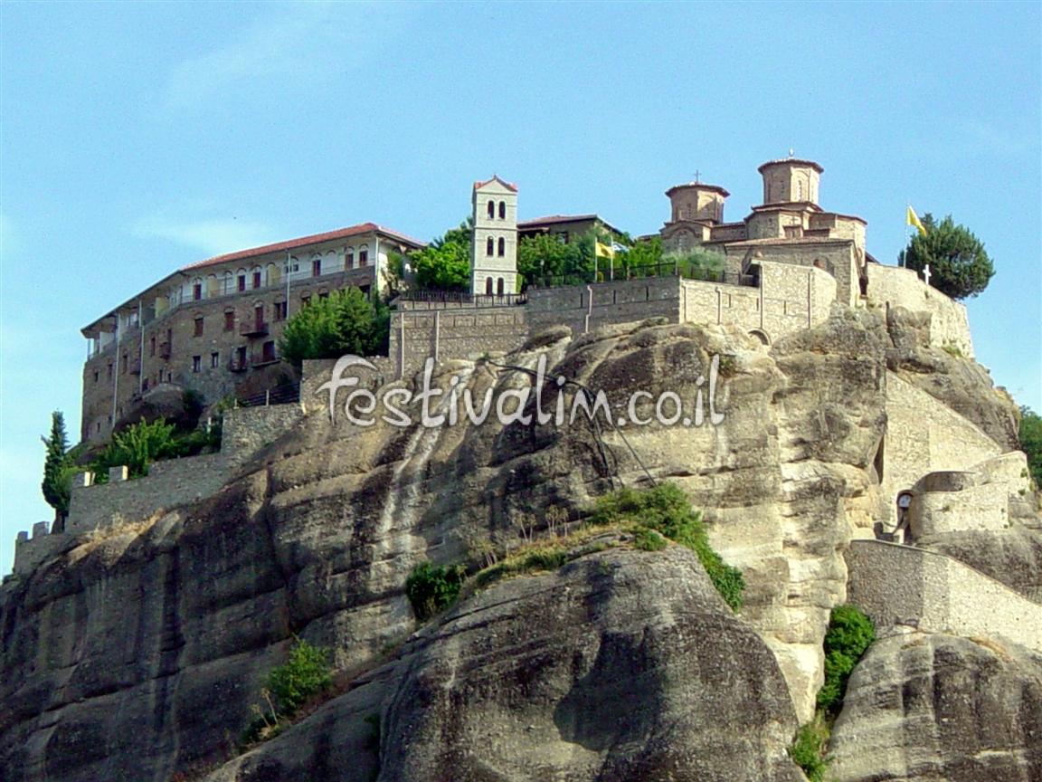 יוון, מטאורה - צילום באדיבות: © CarniFest Online