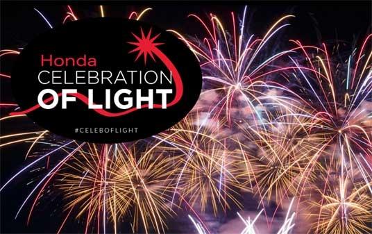 פסטיבל הזיקוקים התחרותי הבינלאומי של וָאנקוּבֶר - צילום:  hondacelebrationoflight.com