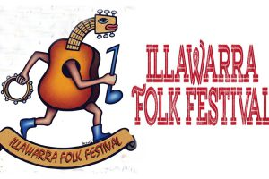 הלוגו של פסטיבל הפולקלור של איליוורה - צילום: www.illawarrafolkfestival.com.au