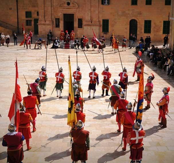 אין גווארדיה קרבות האבירים במצודת סנט אלמו בוולטה - Photo courtesy of Martin Morana/MALTA TOURISM AUTHORITY
