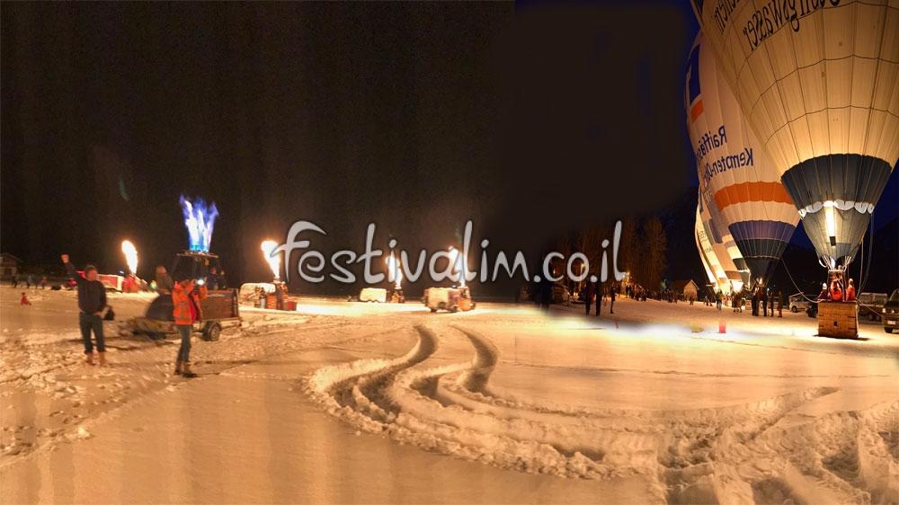 פסטיבל כדורים פורחים באינזל  - צילום באדיבות: © CarniFest Online
