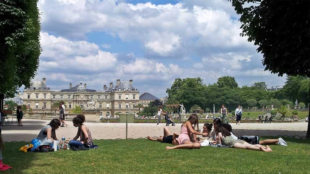 גני לוקסמבורג - פריס - צילום: Sabine Krzikalla [Via pixabay.com]