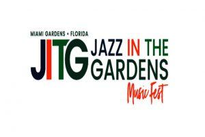 הלוגו של פסטיבל ג'אז אין דה גארדנס  - צילום:  www.jazzinthegardens.com