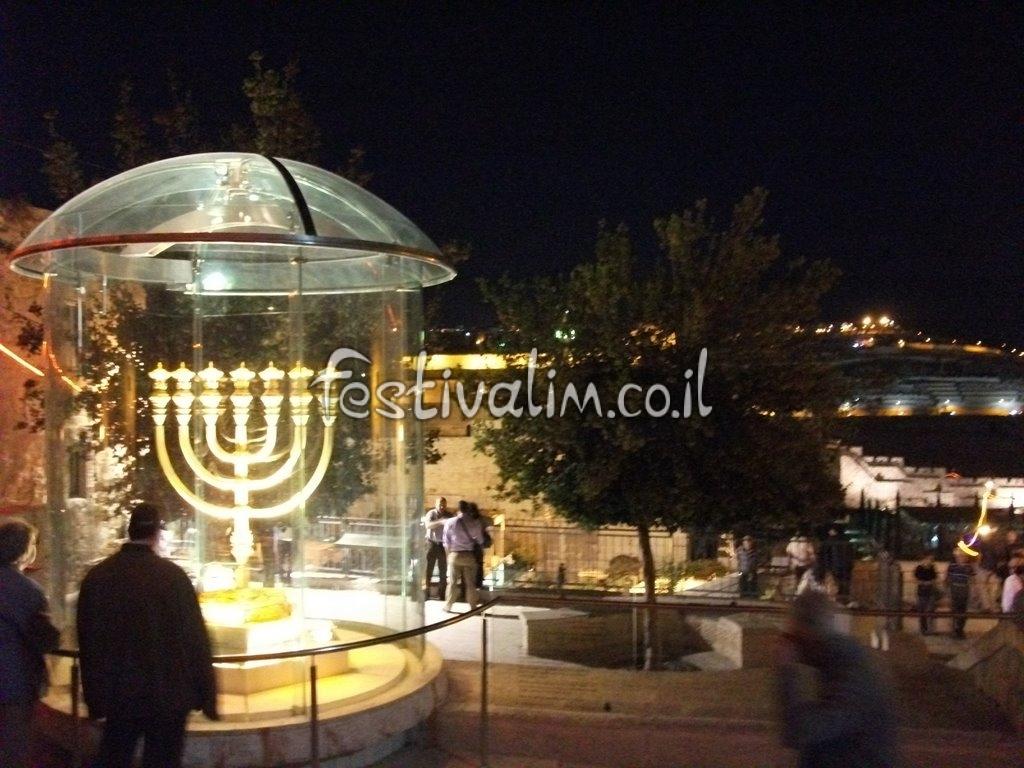 ירושלים ,פסטיבל האור בעיר העתיקה