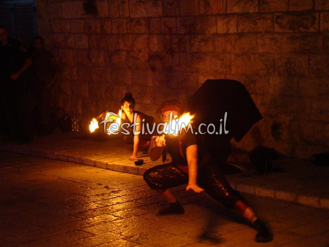 בפסטיבל האור - ירושלים העתיקה - צילום באדיבות: © CarniFest Online