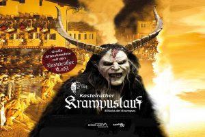 תהלוכת השטן ''קרמפולסלאוף'' בעיירה קסטלורוטו - צילום: www.seiseralm.it