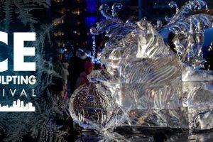 הלוגו של פסטיבל פיסול הקרח של לונדון - צילום: www.londonicesculptingfestival.co.uk
