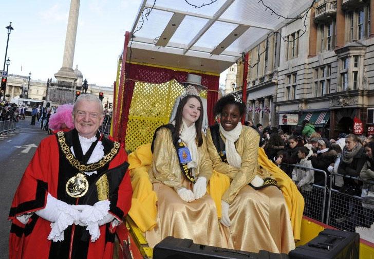 מצעד ראש השנה בלונדון - צילום:  londonparade.co.uk