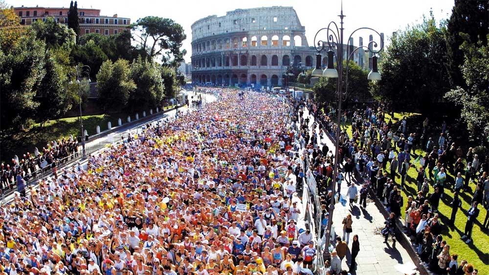 מרתון רומא - צילום: :www.maratonadiroma.it