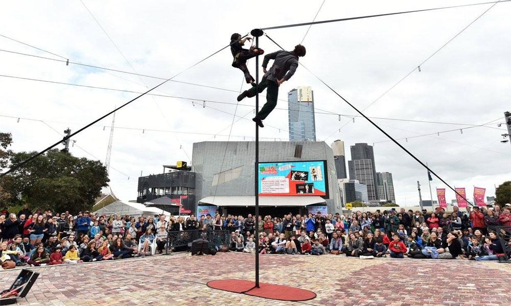 פסטיבל הקומדיה הבינלאומי מלבורן - צילום: www.comedyfestival.com.au