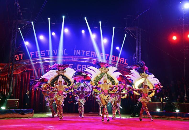 פסטיבל הקרקס הבינלאומי של מונט-קרלו - Photo by: www.montecarlofestival.mc