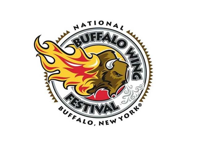 לוגו של פסטיבל כנפי העוף של בופאלו - צילום:  buffalowing.com