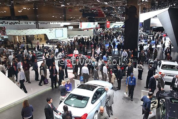 תצוגת הרכב הבינלאומית של צפון אמריקה בדטרויט - צילום:  naias.mediaroom.com