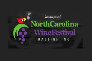 הכרזה של פסטיבל היין של ראליי בצפון קרוליינה - צילום: www.ncwinefestival.com