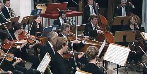 תזמורת על הבמה - צילום: Photo by: www.bach-leipzig.de