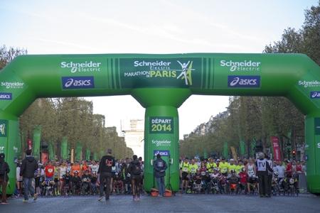 מרתון פריז - Photo by: www2.schneider-electric.com