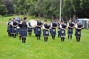 תזמורת נגני חמת חלילים - סקוטלנד - צילום: Niki Vogt  [pixabay.com]