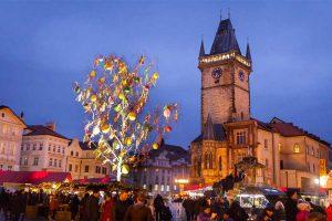 שוק חג הפסחא בפראג - צילום: Prague City Tourism - www.prague.eu