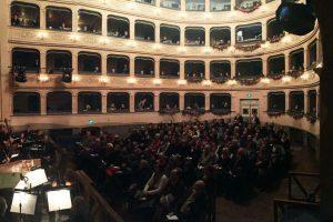 תיאטרון רוסיני בעיר לוגו - פסטיבל מויזקת הבארוק פוטמירו - צילום: www.purtimiro.it