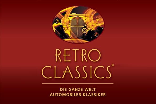 לוגו - רטרו קלאסיק שטוטגרט - Photo by: www.retro-classics.de
