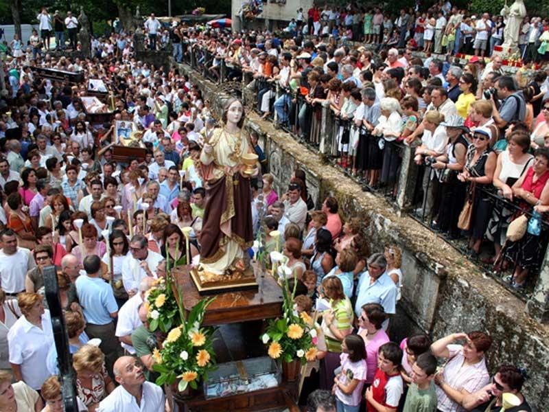 פסטיבל חוויות המוות הקרוב – פייֶסטָה דה סנטה מרטה דה רִיבָּרטֶּמֶה - צילום: www.asneves.com