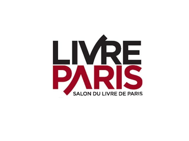 לוגו של יריד הספרים של פריס - Photo by:   www.mybadgeonline.com